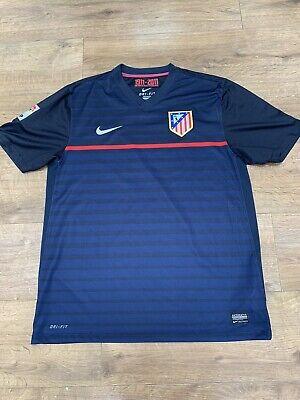 Authentic Athletico Madrid Away Football Shirt 2011 Nike Large La Liga  image