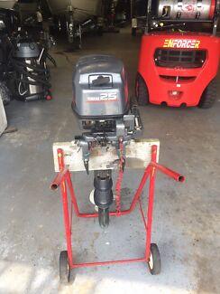 Yamaha 25 hp 2 stroke long shaft