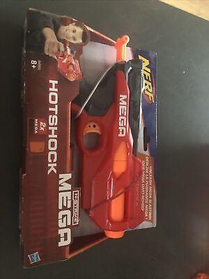 Hasbro Nerf N Strike Mega Hot Shock Gun -new