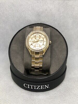 Citizen Eco-Drive Rose Gold Plated Ladies Watch! FD1063-57X! BNIB! RRP £239.99!