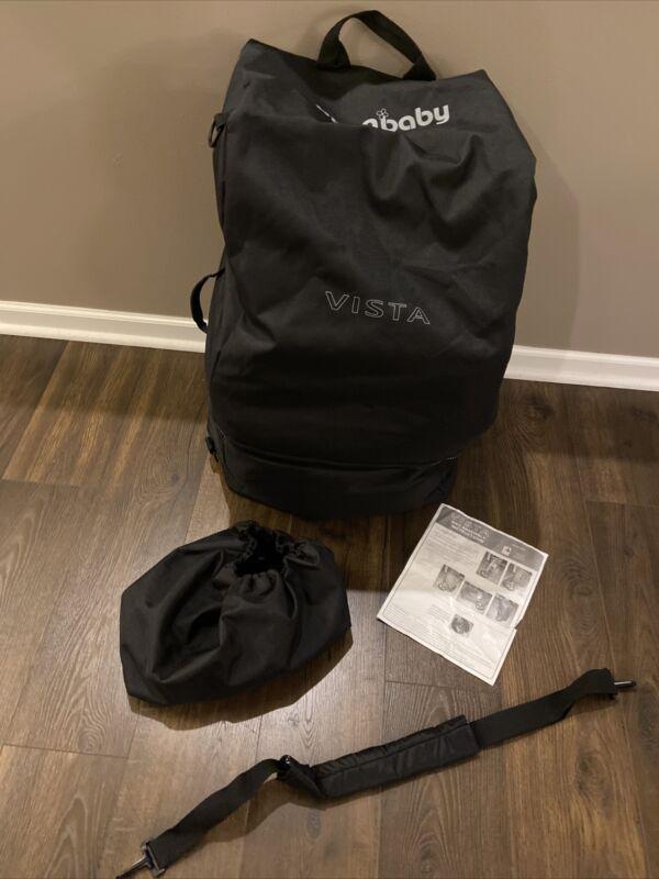 UPPAbaby Vista Stroller Travel Bag +Port For Wheels + Wheel Bag + Strap 0031