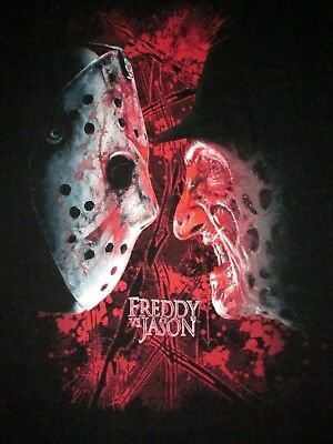 Universal Orlando Halloween Horror Nights 25 Freddy Vs Jason T Shirt Sz XXXL