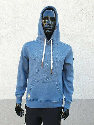 Fashion Herren Pullover (Stylischer Herren Sweat Pullover ''WEIZ'' Kapuze Fashion Modern MEN Hoodie)