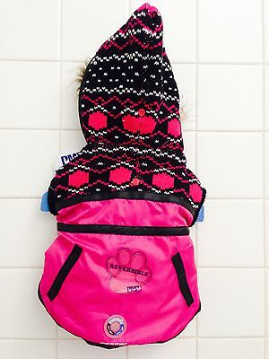 Brand New Petco  Protect Me For Pets  Dog Reversible Pink Jacket