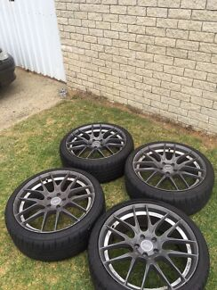 """Ford rims 20"""" with 70% tread left  Wanneroo Wanneroo Area Preview"""