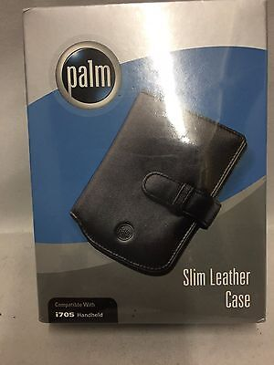 Brand New Palm Slim Leather Carrying Case for i705 Handheld PDA