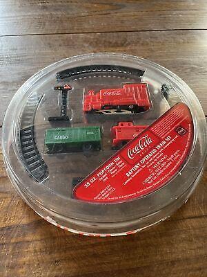 Coca Cola Battery Operated Train Set NIP