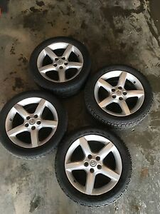 "17"" winter tire wheels package"