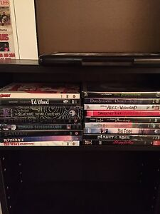Tim Burton 17 DVD collection.  All in perfect condition.