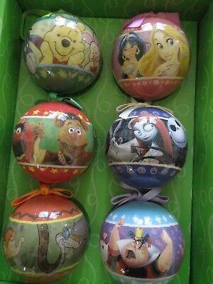 Disney Christmas Ornament Set Pooh Muppets Alice Jungle book Nightmare Princess
