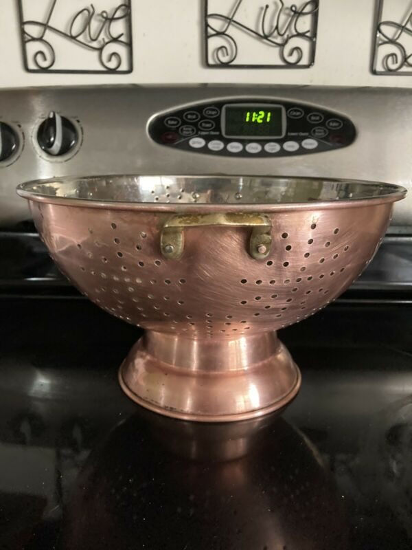 Copper & Brass Colander