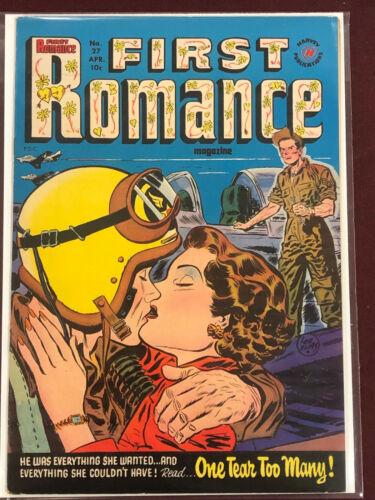FIRST ROMANCE 27 Professionally Graded VF 8.0