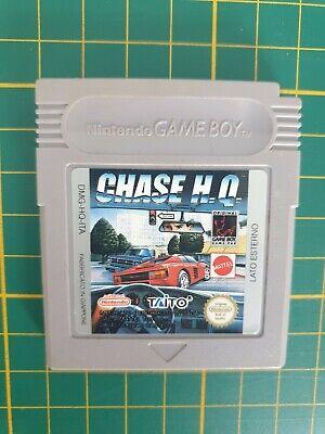RARE NEW SUPER CHASE HQ H.Q MATTEL Nintendo Gameboy Game boy GB JEU DMG-HQ-ITA