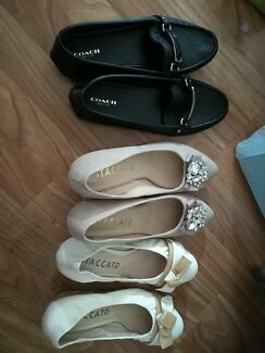 coach and Staccato shoes