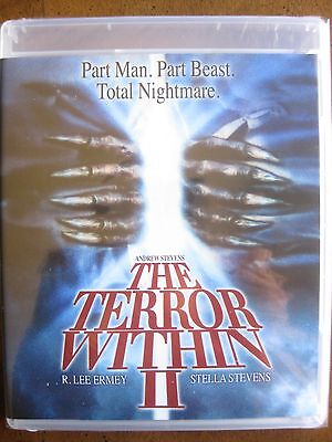 The Terror Within Ii  1991  Blu Ray  Code Red  Stella Stevens  R Lee Emery New