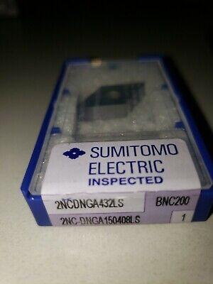 Sumitomo 2ncdnga432ls Bnc200 Cbn 432 Turning Insert 2nc Dnga 150408 Ls