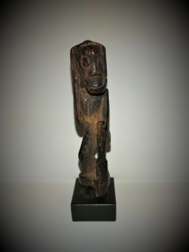 Dayak Forest Ancestor Amulet Charm...late 19th cent.... w/ provenance.