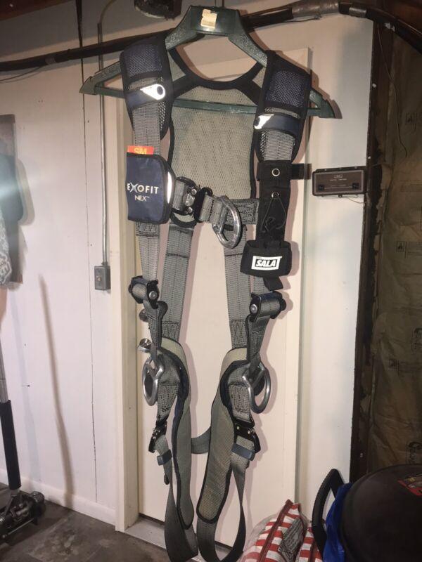 dbi sala safety harness, small, blue