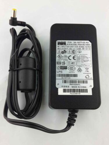 Cisco 48V 0.38A AC Power Adapter 34-1977-03 A0, PSA18U-480C