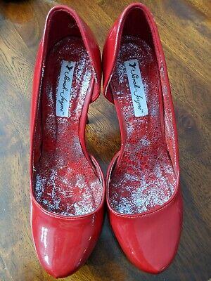 Red high heels Sarah Jane 8.5