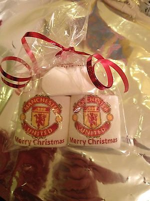Manchester United Stocking Filler Personalised Marshmallows Novelty Christmas