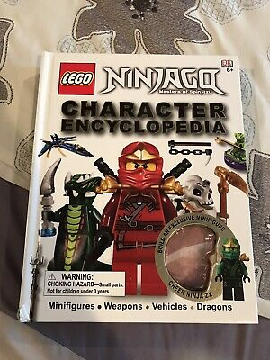 LEGO Ninjago Masters Of Spinjitsu Character Encyclopedia Book No Figurine