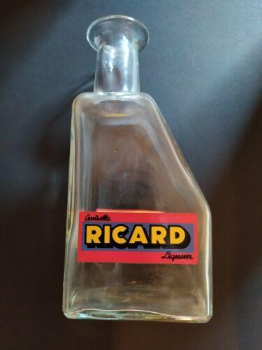 Ancienne carafe ricard en verre, vintage. bistrot. déco