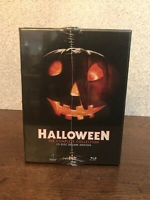 HALLOWEEN THE COMPLETE COLLECTION BLU RAY BRAND NEW 15 Disc Deluxe Limited OOP