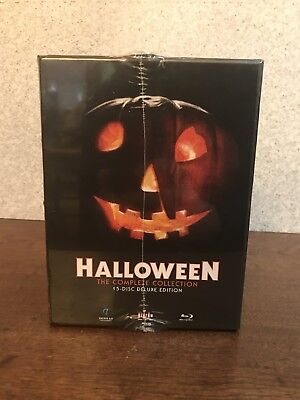 HALLOWEEN THE COMPLETE COLLECTION BLU RAY BRAND NEW 15 Disc Deluxe Limited - Halloween Complete Blu Ray Collection