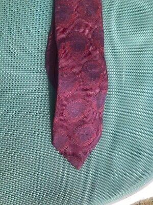 Gianni Versace 100% Silk Tie Medusa