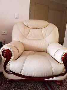 ITALIANO LEATHER ARMCHAIRS Revesby Bankstown Area Preview