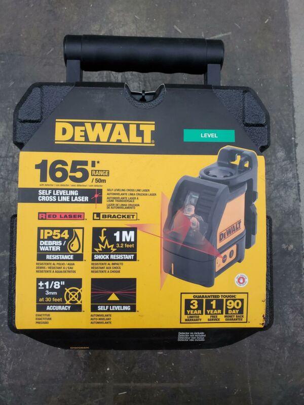 DEWALT DW088K Line Laser, Self-Leveling, Cross Line
