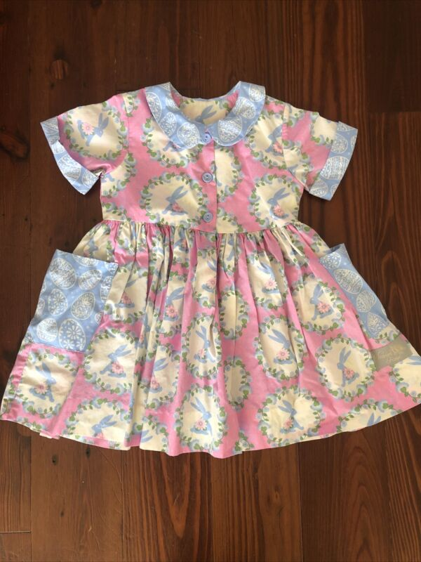 Eleanor Rose Easter Bunny Dress Size 4/5