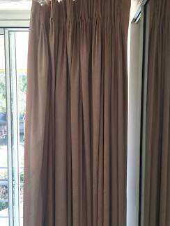 Blockout curtains (3 sets) (Terrocotta/peach) Dee Why Manly Area Preview