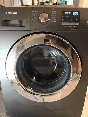Samsung WF70F5E2W2X ecobubble™ Freestanding Washing Machine, 7kg Load, A+++