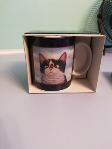 Kitty Cat w/butterfly cup