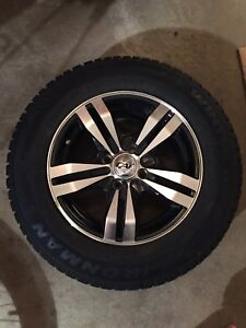 185/70R14 studded tires and rims