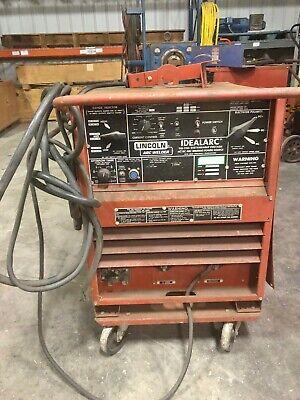 Lincoln Tig 250250 Arc Welder Idealarc Wcart 9679