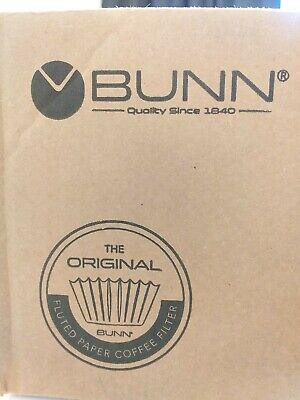 Bunn Coffee Filters 8-12 Cup Basket Brew Rite 1000 Count Commercial White Brewer