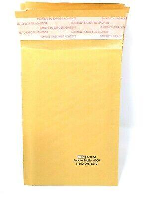 Uline 4x8 4x7 Bubble Mailer Kraft Envelopes 10 20 30 Ct 000 S-9984 Usa Small