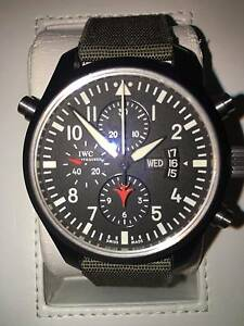 IWC 46mm TOP GUN DOUBLE DOPPEL BOX PAPERS RECEIPTS MINT Double Bay Eastern Suburbs Preview