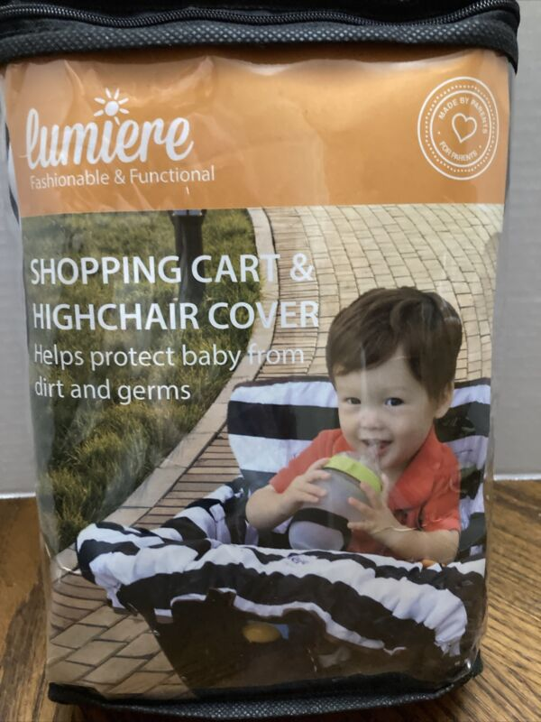 Lumiere Baby Shopping Cart Cover for Baby and Toddler Universal Fit Roll-in NEW