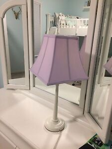 Pottery Barn Kids Metal Touch Lamp with Shade