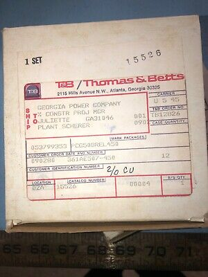 Thomas Betts 15526 Crimper Die Set Thomas Betts New