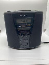 Sony CD Player Alarm Clock Am Fm Radio ICF-CD833