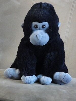 KOHLS CARES GORILLA MONKEY Black & Grey STUFFED ANIMAL PLUSH 11