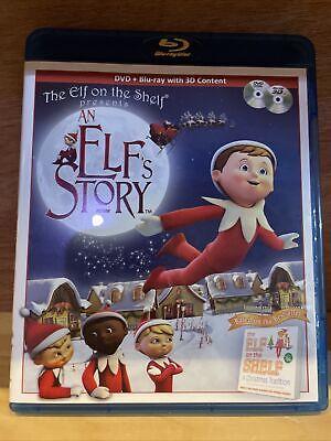 Elf On a Shelf : An Elf's Story (DVD / Blu-Ray, 2013) 2 Disc Combo.