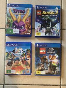 LEGO & Kids Games 4xGame Bundle PS4 PlayStation 4