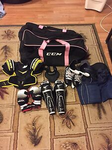 Hockey and ringuette equipement