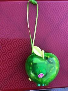 Polly Pocket green apple